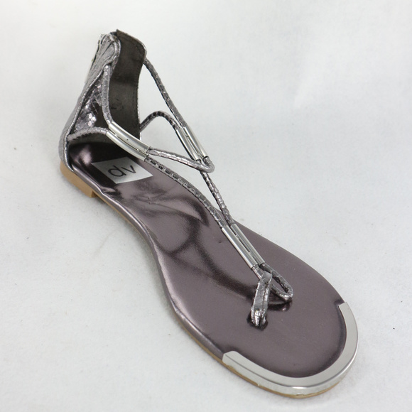 f4426360425 New DV by DOLCE VITA Silver Sandals